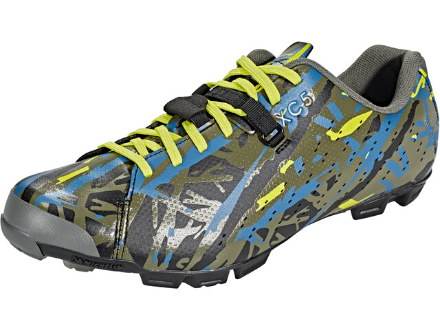 Shimano E-SHXC5SC Shoes green camo